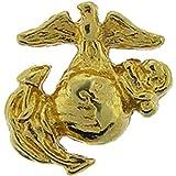 U.S. MARINES, USMC EMBLEM A1 LEFT MINI-GOLD