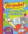 Artzooka ! : Mon grand livre d'activités par Gründ