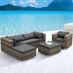 51nxkiItCdL. SS300  - Jarder Rattan Corner Sofa Garden Set   Outdoor Furniture Suitable For Garden, Patio, Conservatory