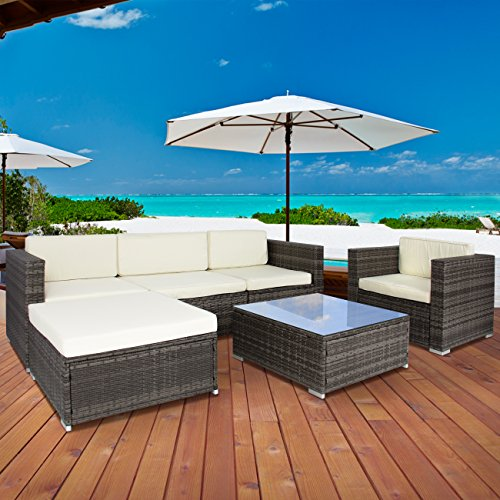 Choiceproducts Outdoor Garden Furniture Sectional Overview