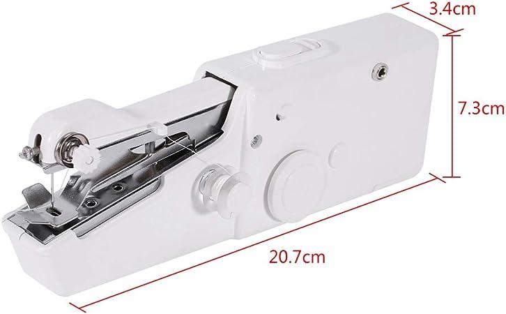 Mini máquina de coser de mano portátil, con puntada única, apta ...