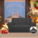 Easy-Going Stretch Loveseat Slipcover 1-Piece Couch
