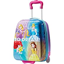American Tourister 74728 Disney Princess 18 Inch Upright Hardside Children's Luggage, Princess