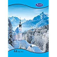 Ankit A4 College Book, Single line, Soft Bond, 172 Pages (Pack of 10)