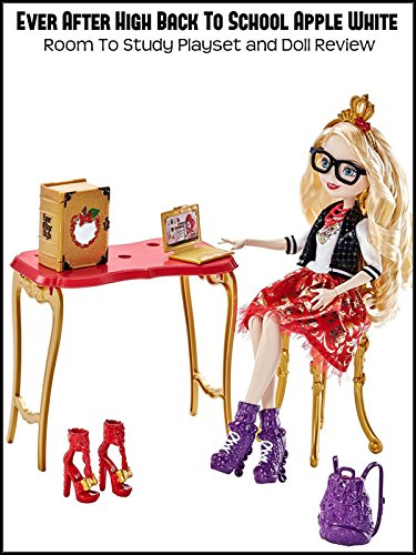 Review: Ever After High Back To School Apple White Room To Study Playset and Doll Review ()
