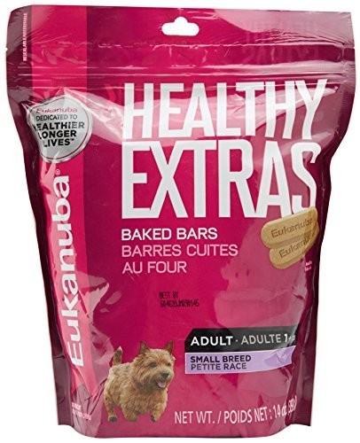 Iams Biscuit - EUKANUBA HEALTHY EXTRAS Adult Small Breed Dog Treats 14 Ounces by Eukanuba
