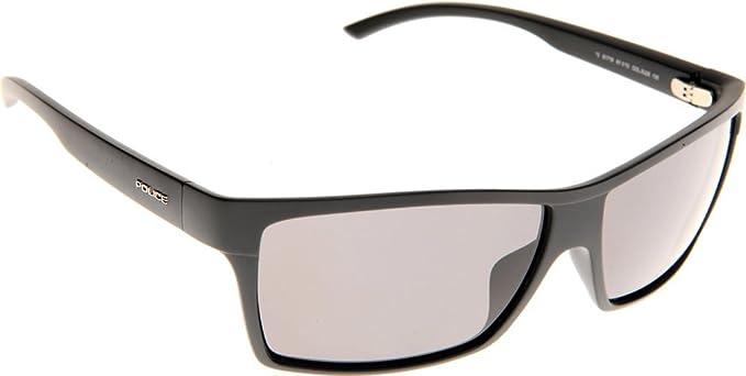 Amazon.com: Police anteojos de sol S 1719 0U28 acetato Mat ...