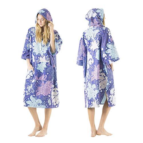 Vivida Lifestyle | Originele Poncho Handdoek Veranderende Gewaad met Sneldrogende Stof en Gemakkelijke Onderarm Toegang…