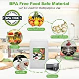 Vacuum Sealer Bags for Food Saver, 100Pcs 5.9''x