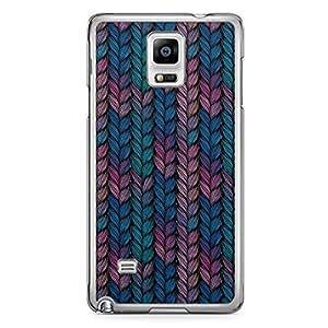 Braid 3 Samsung Note 4 Transparent Edge Case - Braids Collection