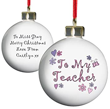 Weihnachtsbaum Dekoration U2013 Lehrer Design, Baumschmuck, Weihnachten  Dekoration, Rund, Festliche Geschenk Ideen