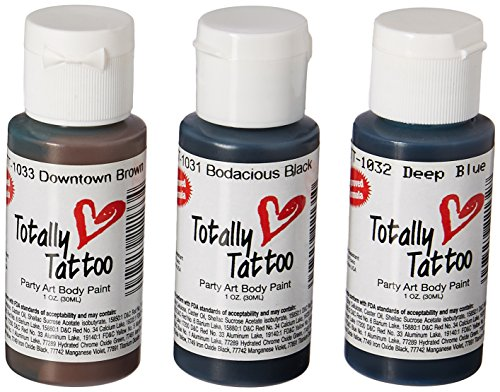 Badger Totally Temporary Tattoo Airbrush Paint Snow White/2 Oz