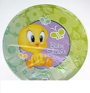 Amazon Com Baby Looney Tunes Party Tweety Birthday Mylar