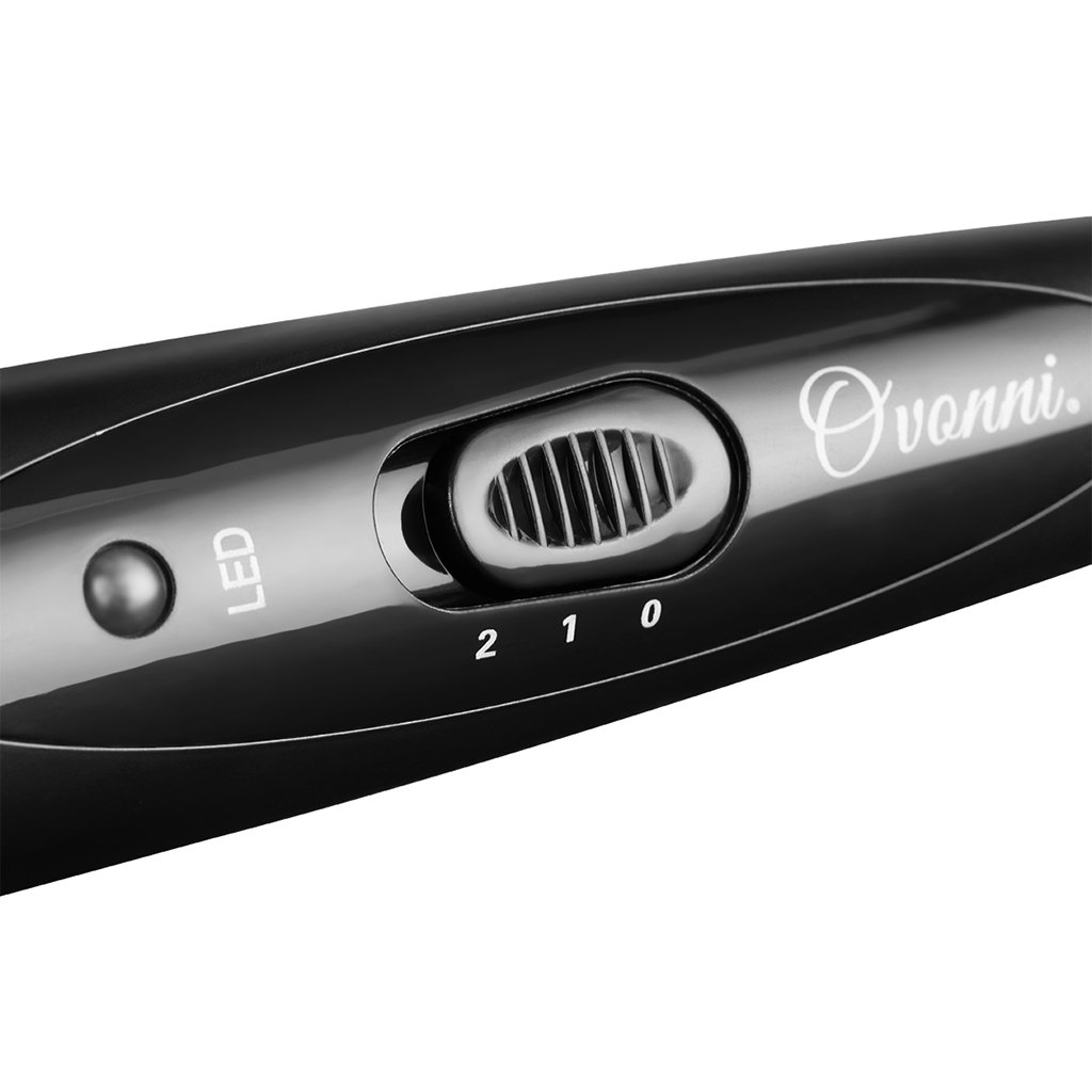 Ovonni -- 3 en 1 rizador de pelo Multifunción Intercambiables Negro: Amazon.es: Belleza