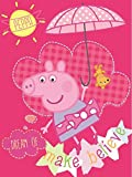Peppa Pig Super Soft Plush Oversized Twin Throw Blanket 60x80 Inches - Dream of Make Believe