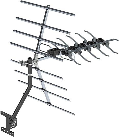 Antena para Exteriores frecuencia 470-860MHz 10m 3C2V Doble ...