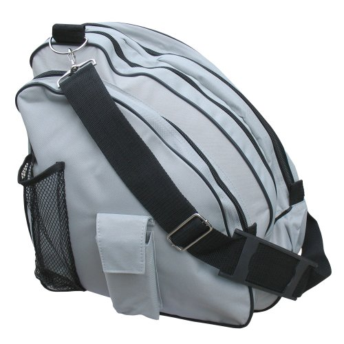 - A&R Sports Deluxe Skate Bag, Silver