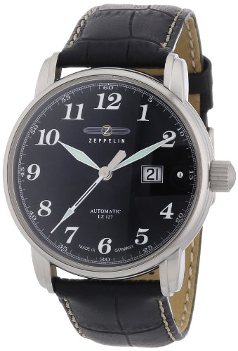 Zeppelin Men's Automatic Watch 76522 With Black Dial
