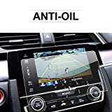 Honda Civic COUPE HATCHBACK 7-Inch 2016 2017 Car Navigation Screen Protector,LFOTPP Clear Center Touch Screen Protector Anti Scratch High Clarity