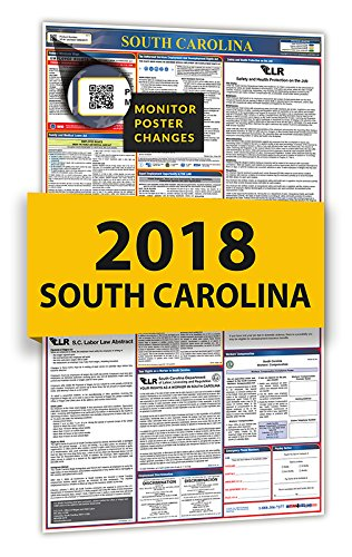 2018 South Carolina All-In-One Labor Law Posters for Workplace - Stores Place Carolina