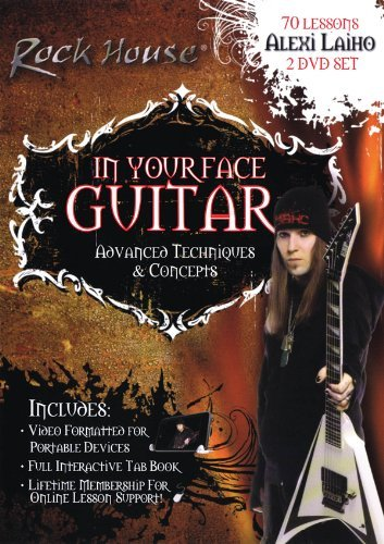 Alexi Laiho - In Your Face Guitar by Alexi Laiho B01EGQA3OQ