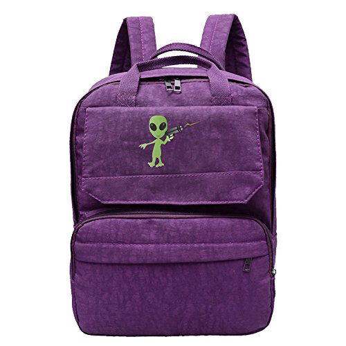 For Costume Mars Attacks Sale (Alien With Ray Gun Backpack For Women,Girls Leisure)