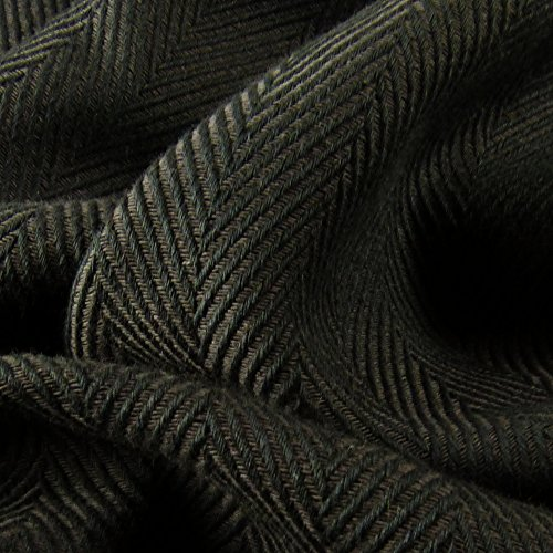 DIDYMOS Woven Wrap Baby Carrier Lisca/Herrinbone Obsidian (Organic Cotton), Size 7