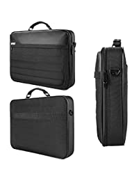 "VanGoddy Trovo Rugged Nylon Hybrid 2-in-1 Briefcase Messenger Bag Tote for HP Envy 17 | Pavilion 17 Series 17.3"" Laptop"