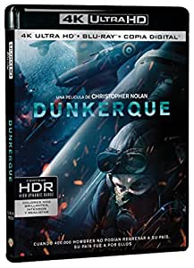 Dunkerque Blu-Ray Uhd [Blu-ray]