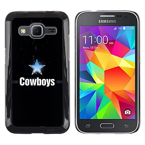 GRECELL CITY GIFT PHONE CASE /// Cellphone Protective Case Hard PC Slim Shell Cover Case for Samsung Galaxy Core Prime /// Dallas Cowboy