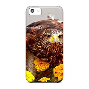 Awesome Case Cover/iphone 5c Defender Case Cover(camouflaged Bird)