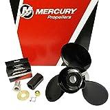 Mercury Black Max Boat Propeller 832828A45 | RH 15 x 17