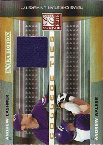 2008 Donruss Elite Extra Edition College Ties Jerseys #11 Andrew Cashner Andrew Walker Jersey /500 - NM-MT