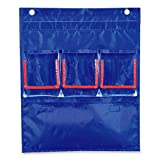 Wholesale CASE of 10 - Carson Deluxe Counting Caddy Chart-Counting Caddy, w/3 Double Pockets, 12-3/4''x15-1/4''