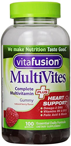 Soutien coeur Vitafusion Multivites Plus, 100 comte