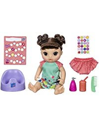 Potty Dance Baby: Talking Baby Doll with Brown Hair,...
