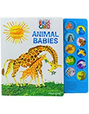 World of Eric Carle - Animal Babies 10-Button Sound Book (The World of Eric Carle: Play-a-Sound)