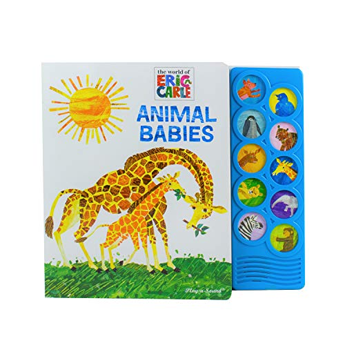 World of Eric Carle, Animal Babies 10-Button Sound Book - PI Kids