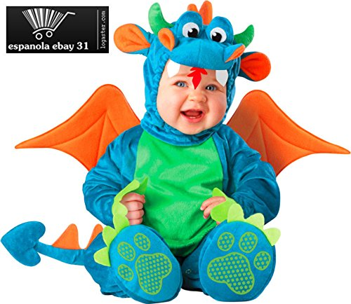 Dinky Dragon Costume - Infant Small -