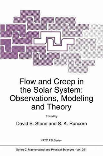 Flow and Creep in the Solar System: Observations, Modeling and Theory (Nato Science Series C:) Pdf