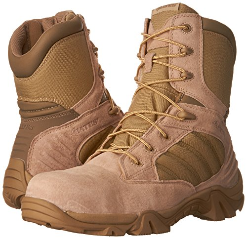 c9e76e327eb Bates Men's GX-8 Comp Toe Side Zip Work Boot - Import It All