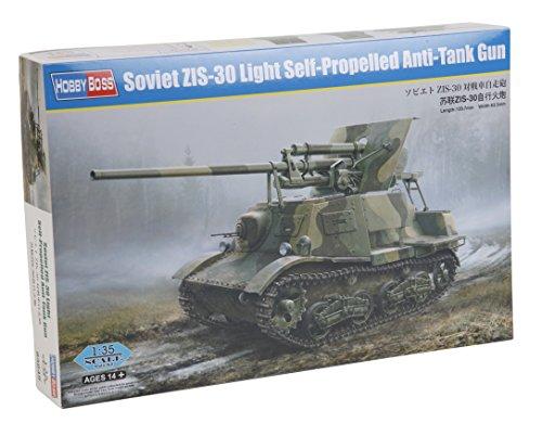 Hobby Boss Soviet Zis-30 Light Self-Propelled Anti-Tank Gun 1/35 Armor Model Kit