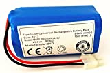 14.4V 2800mAH Replacement Battery for ILIFE A4 A4S A6 V7 Robot...
