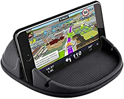 Loncaster Car Phone Holder, Car Phone Mount Silicone Car Pad Mat for Various Dashboards, Anti-Slip Desk Phone Stand...