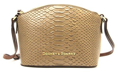 Dooney & Bourke Ruby Crossbody Shoulder Bag Genuine Leather (Mushroom)