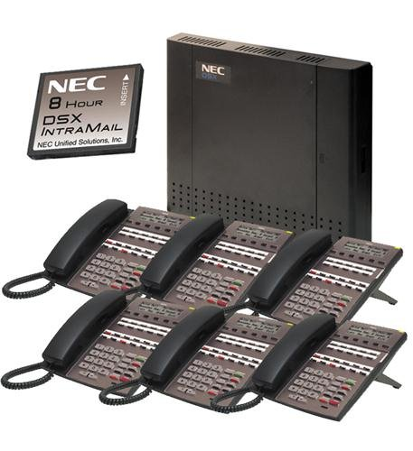 NEC DSX Systems DSX40 Kit with 2-port InMail and 6 22-bt