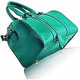Xardi London Top Patent Barrel Shoulder Bag Designer Bowler Women College Cross Body Handbags