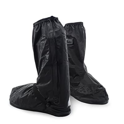 FENGDA Men's Rain Boot Covers Outdoor Waterproof Protective Gear Snow Shoes Covers | Rain