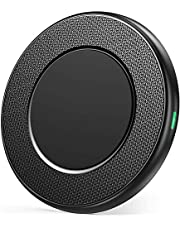 CHOETECH Fast Wireless Charger, 7.5W Wireless Charging Pad Compatible with Apple iPhone 11/11 Pro/11 Pro Max/XR/XS/XS Max/X/8/8 Plus, 10W for Galaxy Note 10/S10/Note 9/ S9/S8/Note 8, AirPods 2 Case