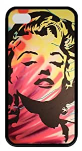 CSKFUPink Ladoo? iphone 6 4.7 inch iphone 6 4.7 inch Case Phone Cover Nice Marilyn Monroe Material Black